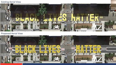 D.C.'s Black Lives Matter Mural Is Gone. The City Plans On Bringing It Back