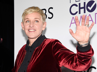Ellen Degeneres, seen in the press room during the 2017 People's Choice Awards, announced she will end her show in 2022.