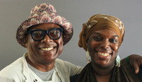 Beau McCall (left) and Julaina Glass spoke for a StoryCorps interview in 2017 about how their relationship has blossomed over the years — from distant neighbors to close friends.