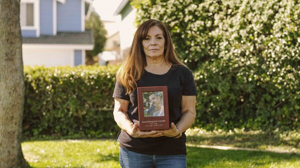 In December 2019, Cynthia Carrillo placed her older brother David at Villa Mesa Care Center, a nursing home in Upland, Calif. After the shutdown in March of 2020, Cynthia Carrillo couldn't visit David inside Villa Mesa. One month later, David, 65, who had Down syndrome, died from COVID-19.