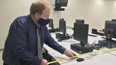 A Principal And His Tape Measure: Schools Are Helping Do COVID-19 Contact Tracing