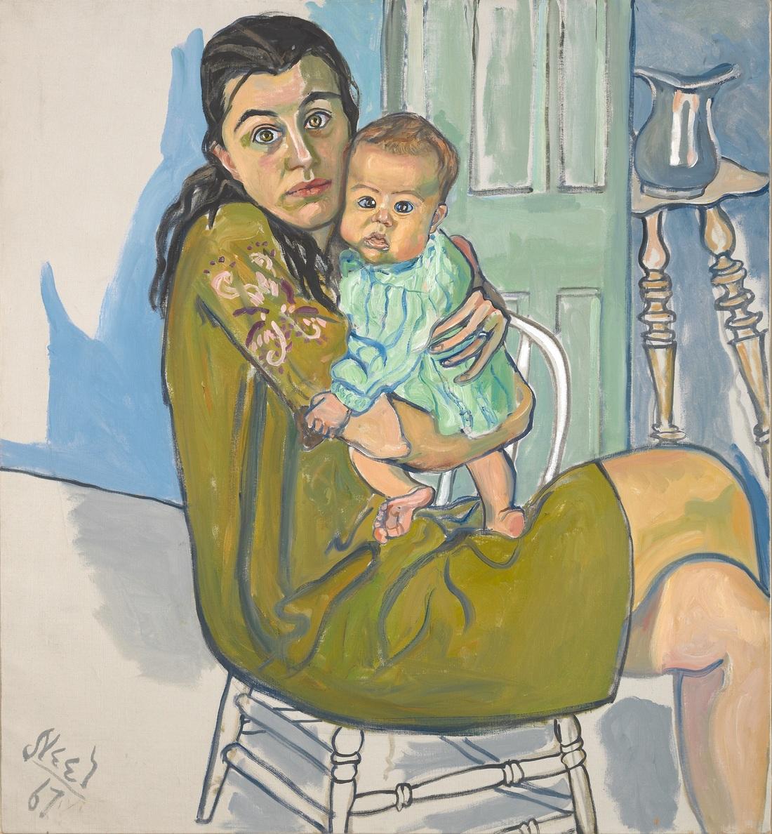 Painter Alice Neel Gets Major Met: NPR Retrospective