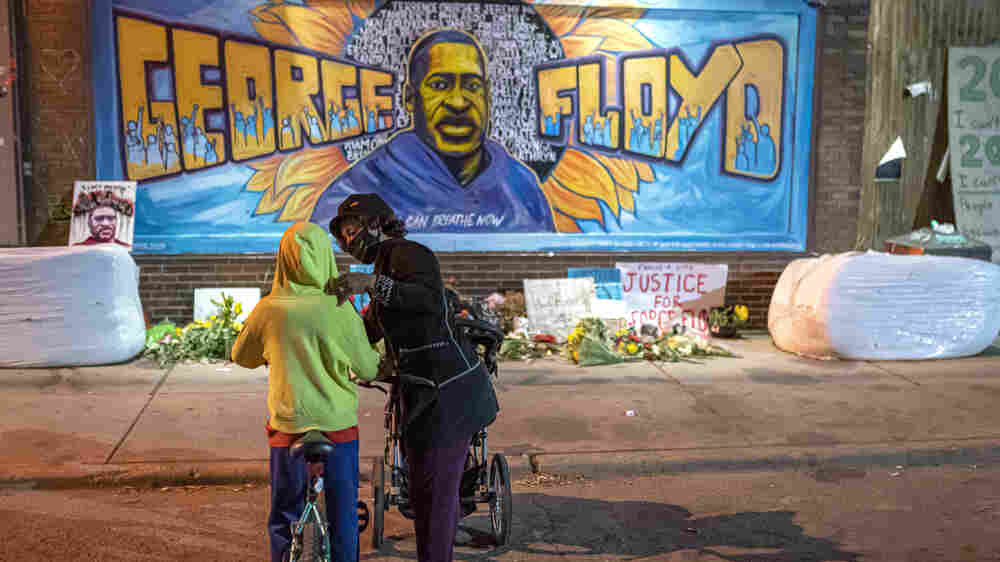 Where Views On Race And Police Stand A Year After George Floyd's Murder