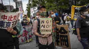Opposition To Tokyo Games Grows Heated Amid COVID Concerns