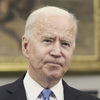 Biden took a mute against violence in Israel and Gaza.