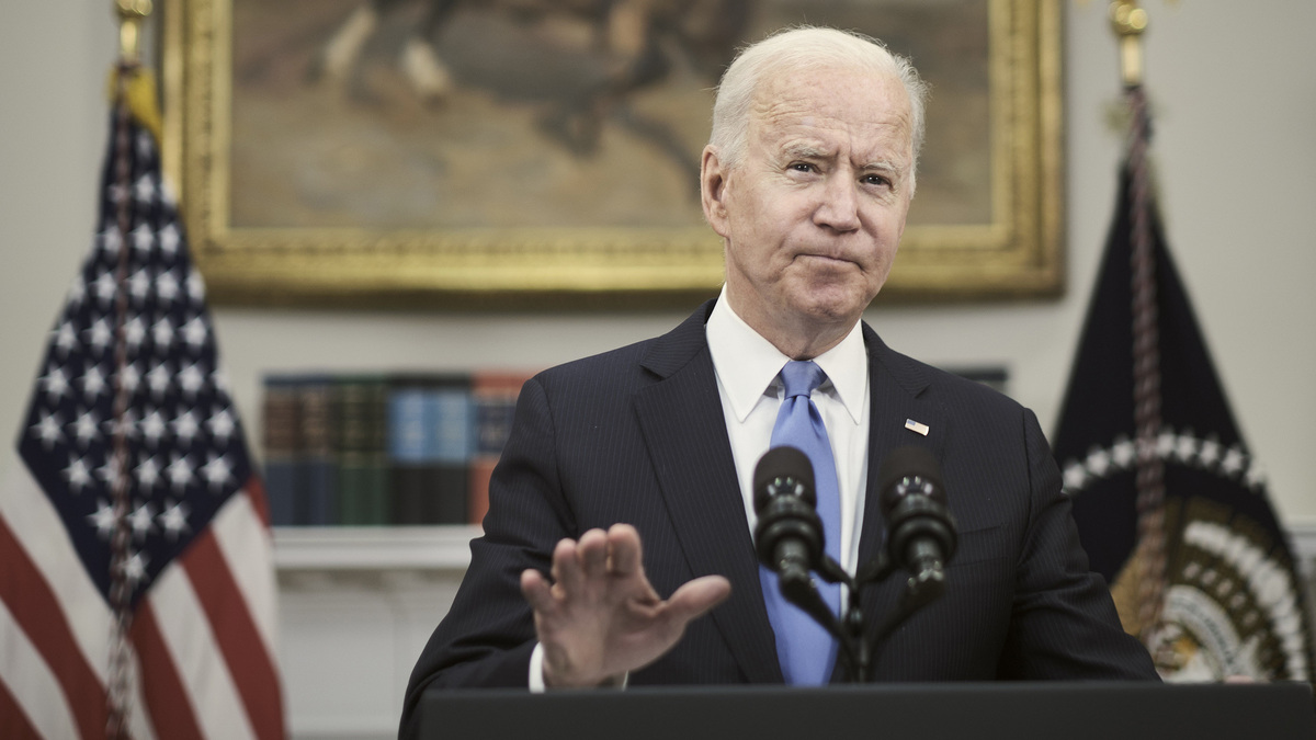 Biden takes silent approach to violence in Israel and Gaza: NPR