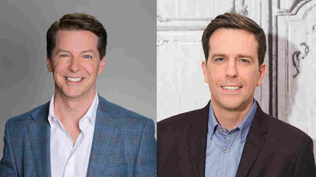 Sean Hayes and Ed Helms appear on NPR's Ask Me Another.