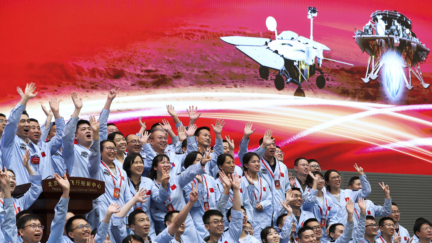 China Lands On Mars In Major Advance For Its Apace Ambitions