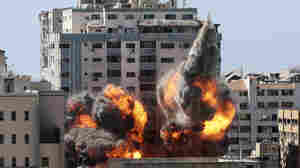 Israeli Airstrike Flattens Building Housing AP And Other Media In Gaza City