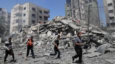 Israeli Strikes Kill Dozens, Topple Buildings In Gaza City