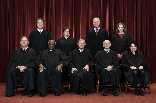At the center of the case before the Supreme Court was a man whose guns were confiscated from his home. All of the justices decided unanimously and Justice Clarence Thomas, writing for the court, noted the recognition that officers perform many civic tasks is not open-ended.