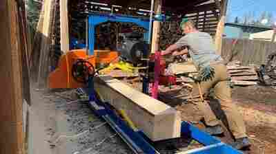 As Lumber Prices Climb, DIYers Cut Out The Middle Man And Mill Their Own