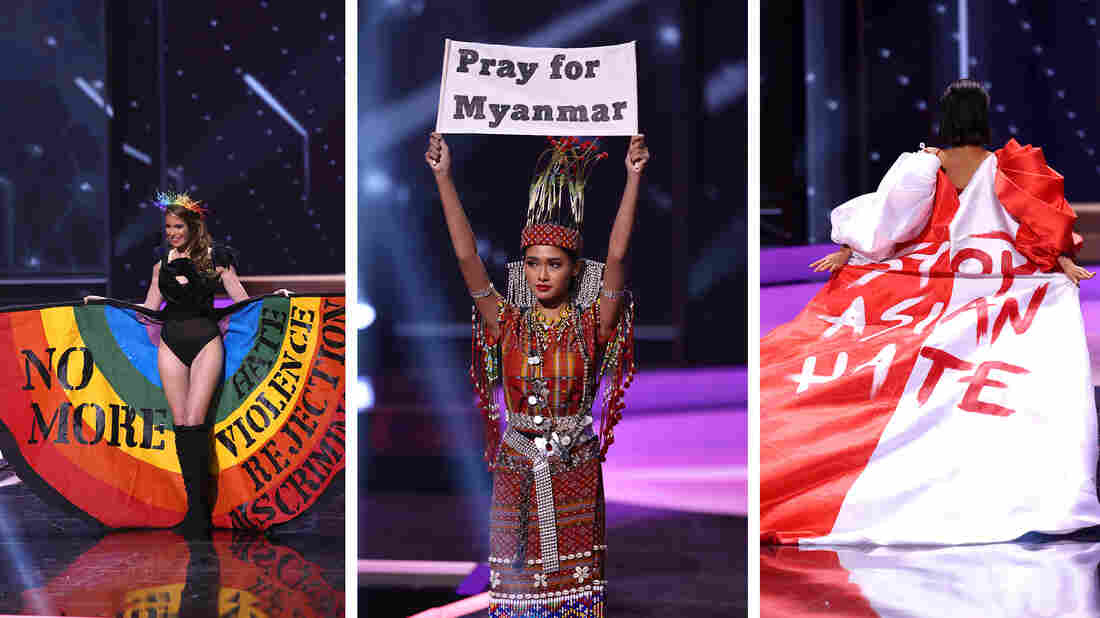 At Miss Universe, Contestants Mix Pageantry With Political Messages