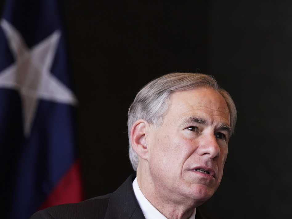 Texas Gov. Greg Abbott has signed into law a bill that bans abortion beginning at around six weeks. (LM Otero/AP)