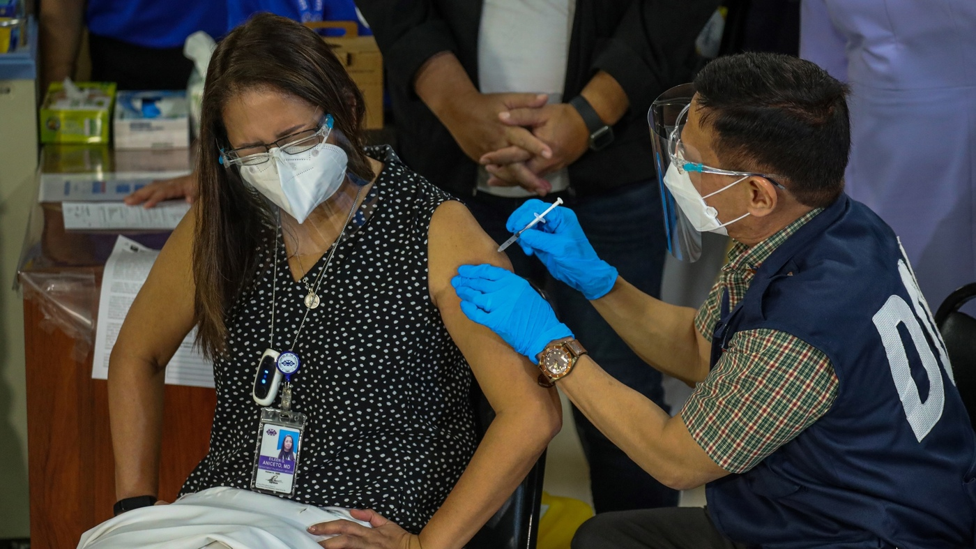 Philippines Says People Won't Be Given A Choice Of COVID-19 Vaccine : Coronavirus Updates – NPR