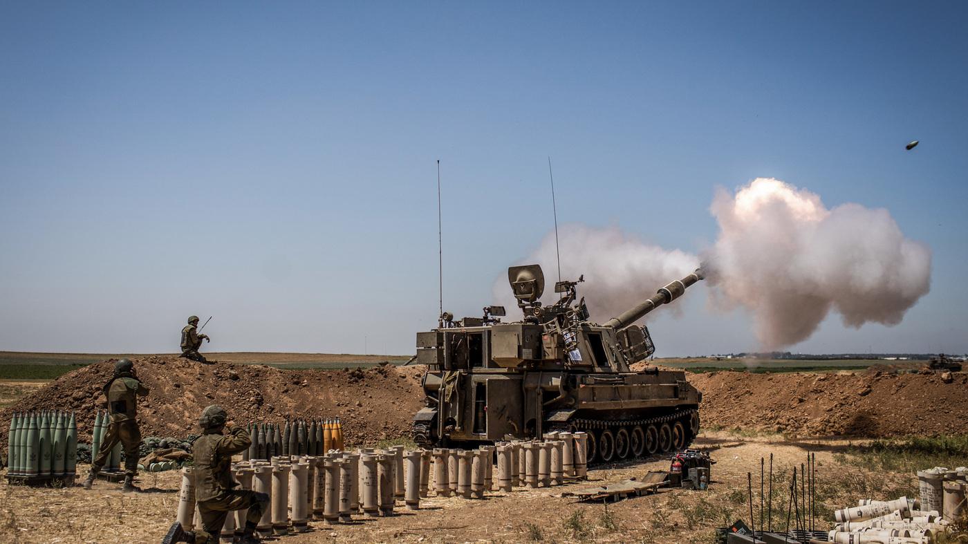 Israeli Warplanes Pound Hamas Tunnels In Gaza – NPR