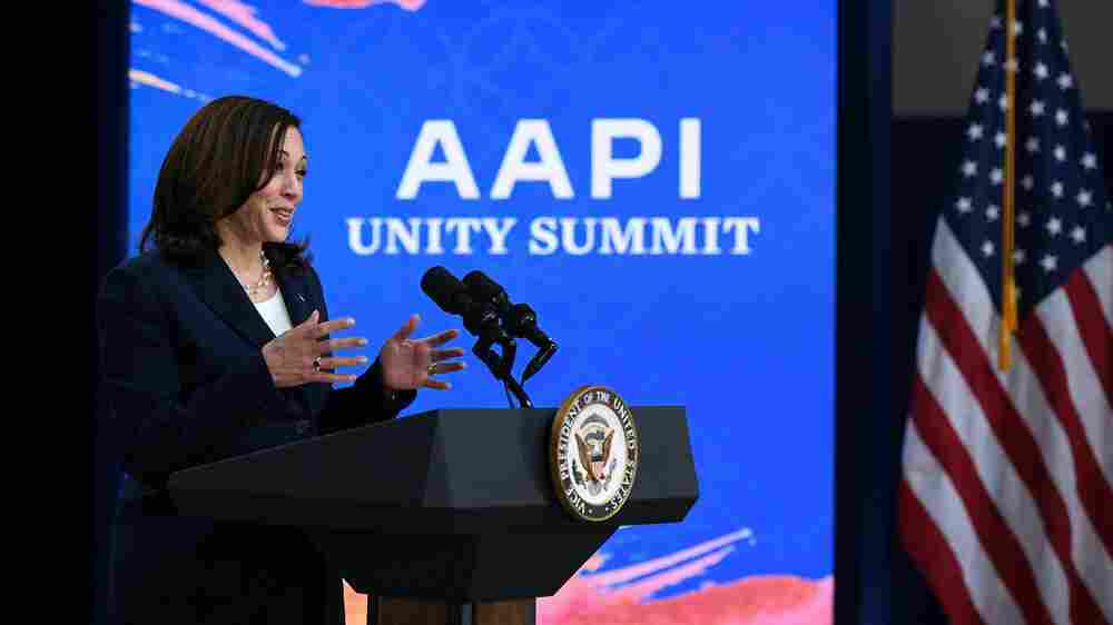 Harris To Asian Americans: Turn Pain And Outrage Into Political Power