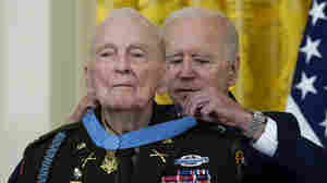 He Risked His Life For His Platoon In Korea. At 94, He Gets A Medal Of Honor