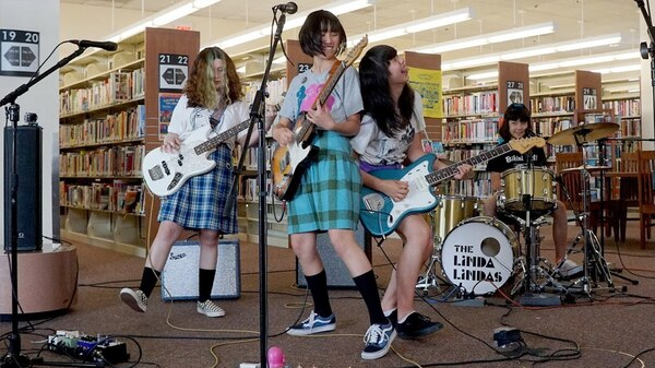 """The Linda Lindas' """"Racist, Sexist Boy"""" went viral after the L.A. Public Library tweeted a performance of the song."""