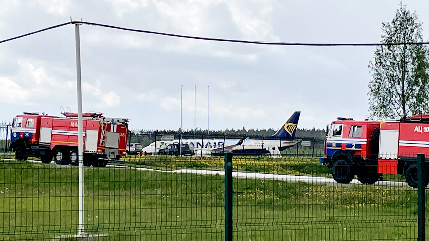 A Ryanair Flight Carrying An Opposition Journalist Is Forced To Land In Belarus – NPR