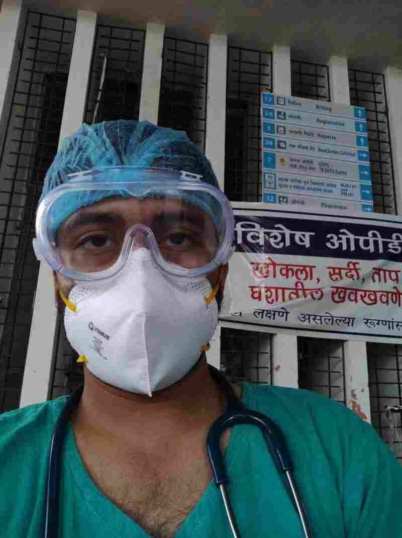COVID-19 Has Pushed India's Junior Doctors To Their Limits 3