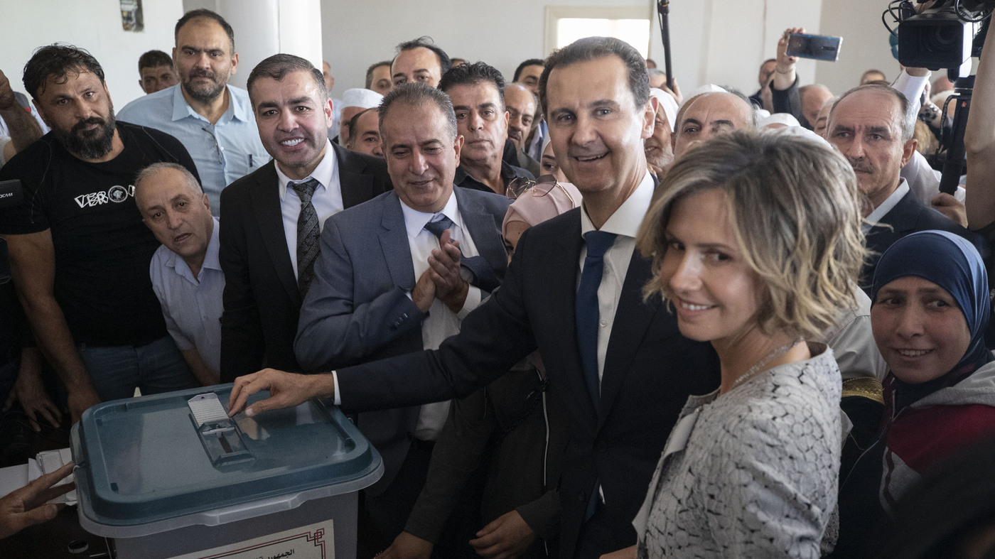 Syrian Election Shows The Extent Of Assad's Power – NPR