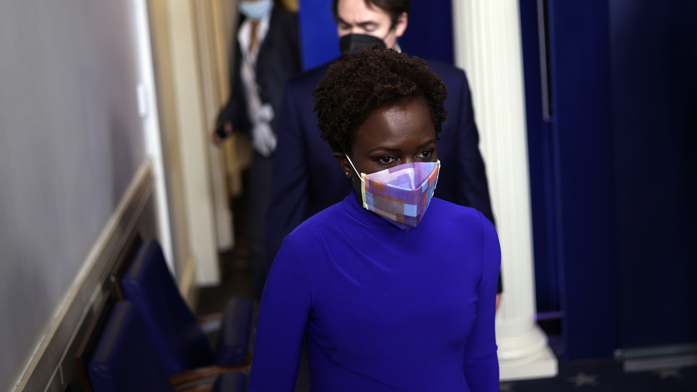 Karine Jean-Pierre Is The First Black Woman In Decades To Brief White House Press - NPR