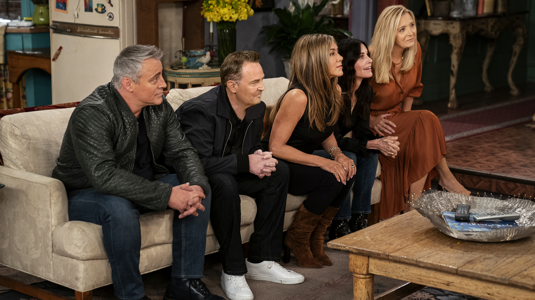 Review: 'Friends: The Reunion' Delivers Memories And Justin Bieber : NPR
