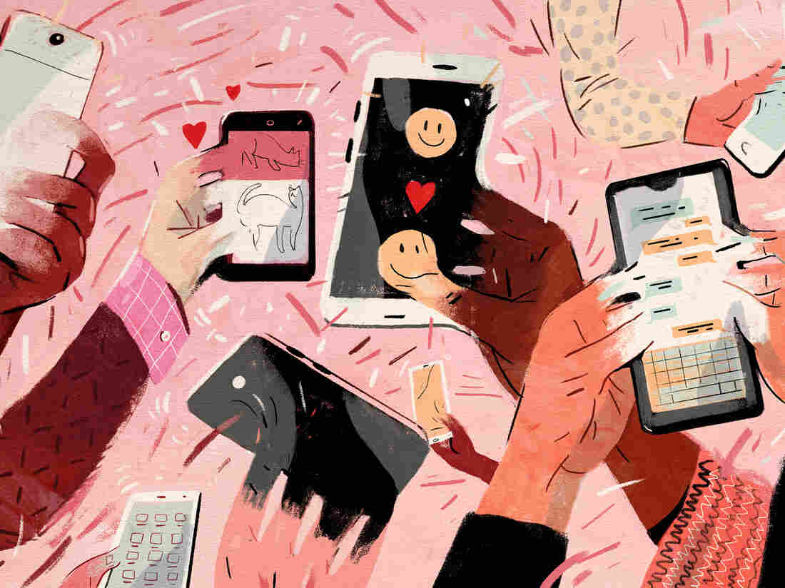 For many people, checking their smartphone can be addicting.