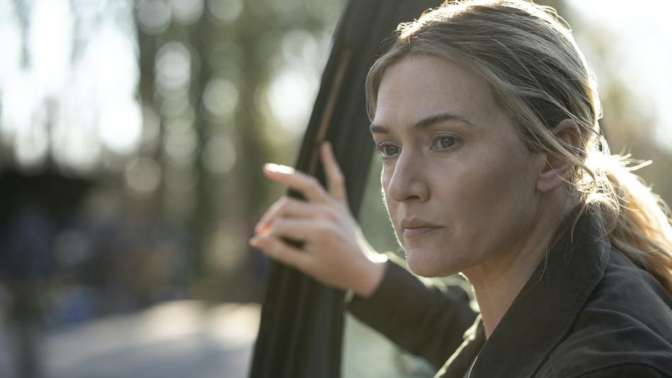Kate Winslet as Mare on <em>Mare of Easttown</em>. (Michele K. Short/HBO)