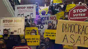 Texas GOP's New Voting Restrictions On Verge Of Approval