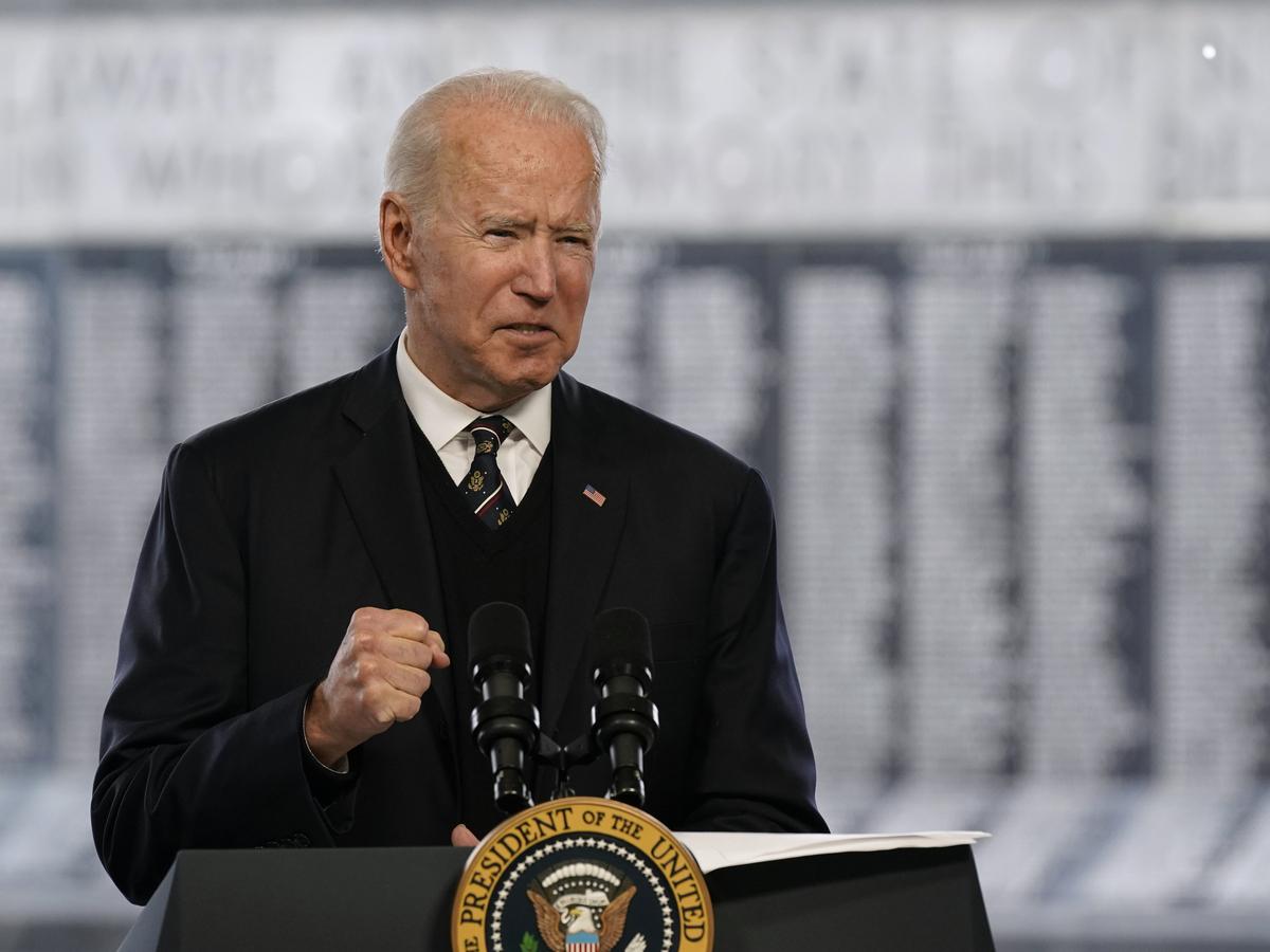 For Memorial Day, Biden honors fallen Delaware service members: NPR