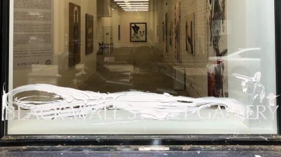 New York Gallery Hosting A Tulsa Race Massacre Exhibit Is Vandalized With White Paint – NPR