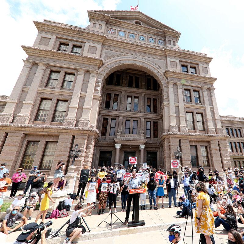 Texas Lawmakers Pressure Democrats To Pass Elections Bill : NPR