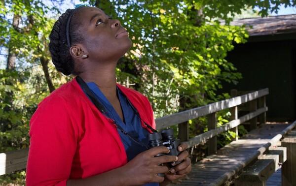 Nicole Jackson is co-organizer of Black Birders Week, and founder of Black in National Parks Week.