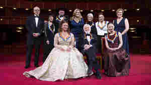 This Year's Kennedy Center Honorees Have A 'Jolly Romp' At The White House