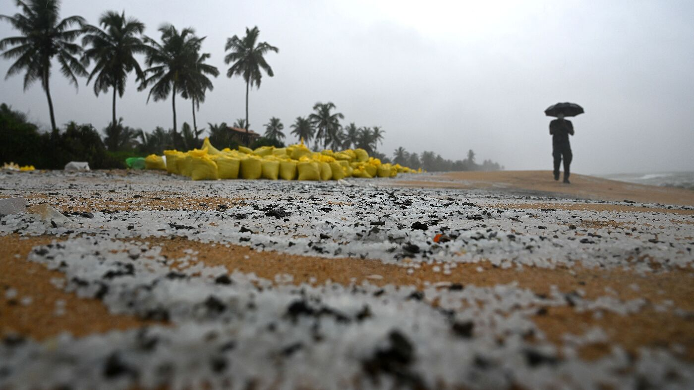 The Ship Sinking Off Sri Lanka Looks Like A Lasting Environmental Disaster