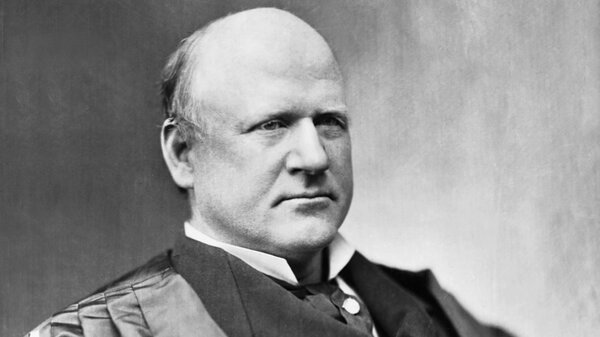 John Marshall Harlan, who was named for Supreme Court Chief Justice John Marshall, served on the Supreme Court from 1877 until his death in 1911.