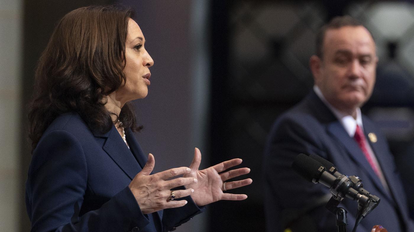Kamala Harris Tells Guatemalans: Don't Come To The US - NPR thumbnail