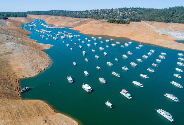 Western snowpacks are melting earlier, which in turn boosts  evaporation and leads to less runoff reaching reservoirs such as California's Lake Oroville.