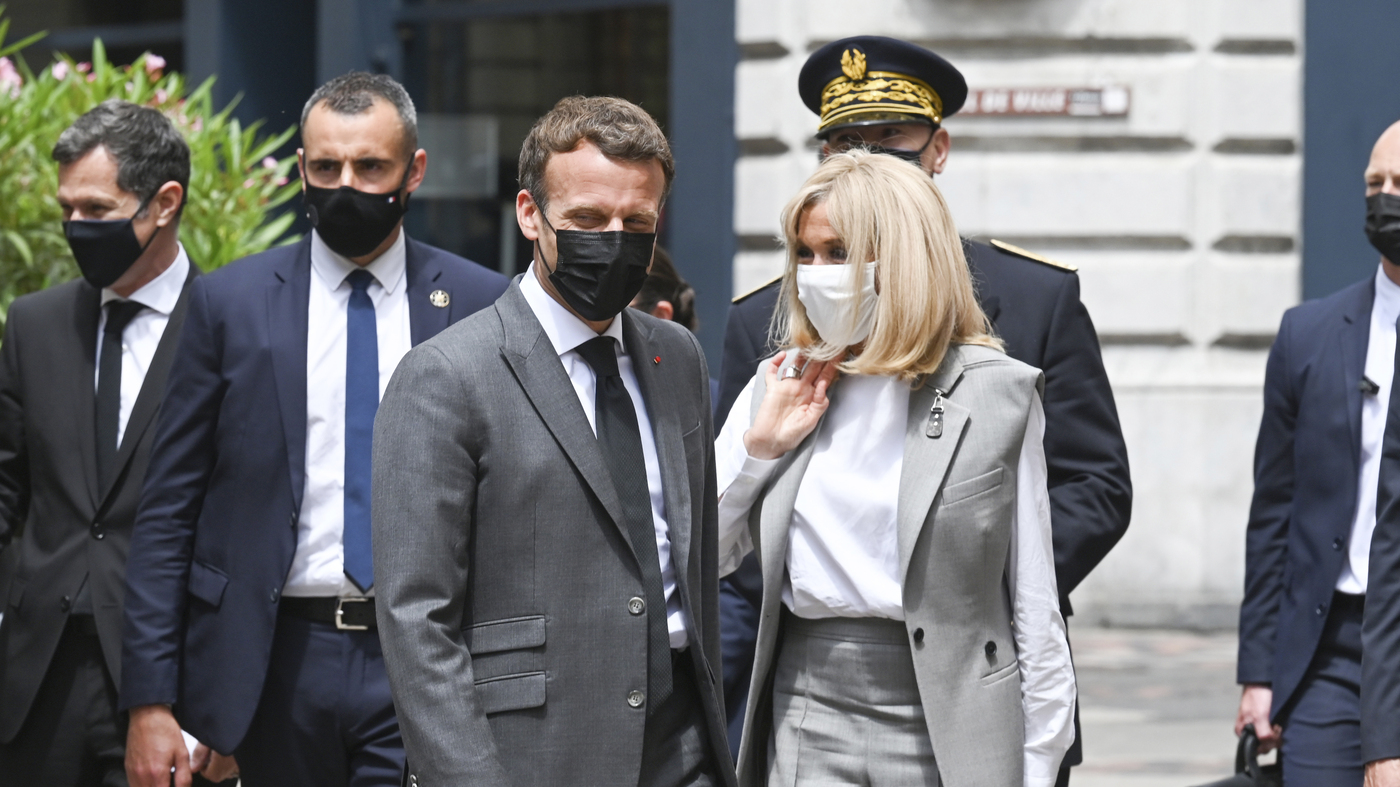French President Macron Is Slapped In The Face During A Visit To A Small Town – NPR