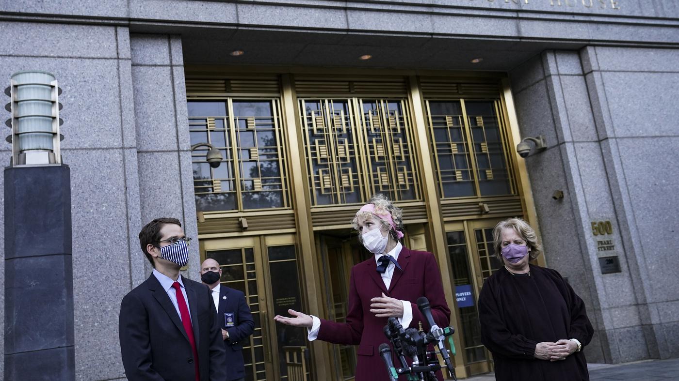 Justice Department Continues Trump Defense In E. Jean Carroll Suit – NPR