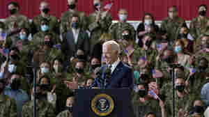 Democracies 'Are Standing Together,' Biden Says As He Kicks Off His 1st Trip Abroad