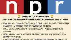 NPR Wins Six Gracie Awards