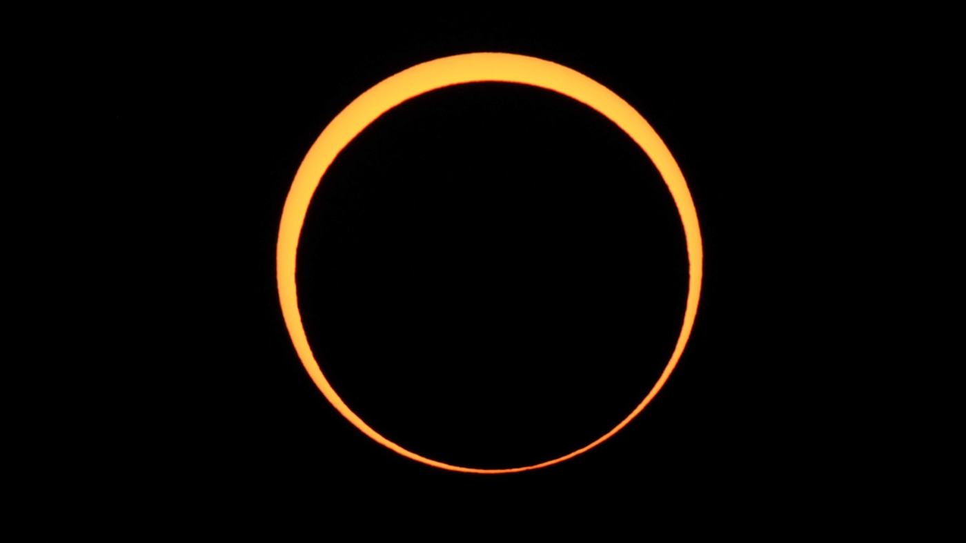 How to watch the 'Ring of Fire' solar eclipse on Thursday morning: NPR