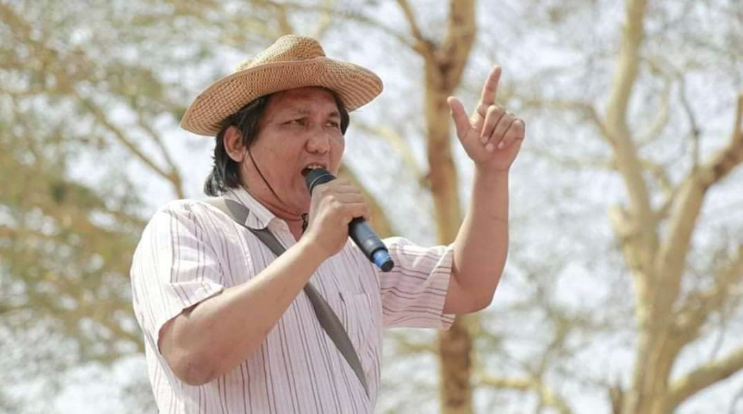 A poet has raised his voice against Myanmar's coup.  Then he was taken away.  Now he's dead: NPR