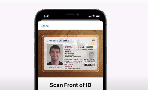 Apple announced this week at its Worldwide Developer Conference a new feature in its forthcoming operating system, iOS 15, that will digitize state-issued licensees and ID cards.