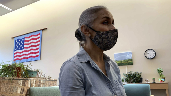Christina Campos, administrator of the Guadalupe County Hospital, says the community has been hit with several large outbreaks of the virus, most recently in May, which has bolstered vaccination rates.