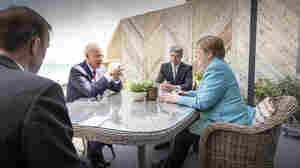 Biden Pushes G-7 Allies To Take A Tougher Stance On China