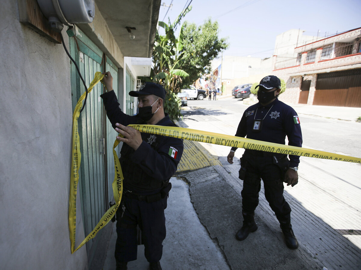 Mexican authorities find remains of 17 victims under suspected serial killer home: NPR